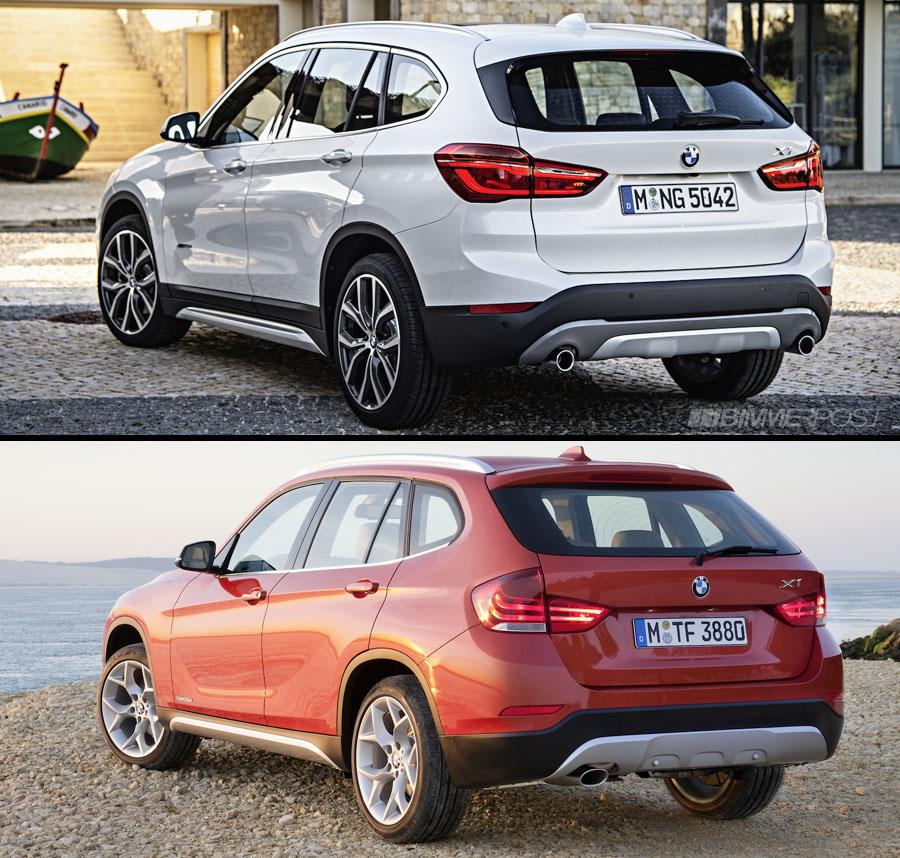 Visual Comparison Of New BMW X1 (F48) Vs Outgoing X1 (E84