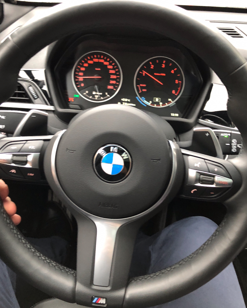 Steering wheel off-centre after alignment - BMW X1 Forum