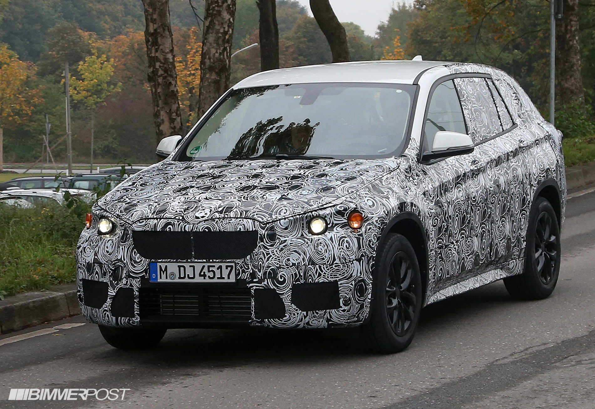 2016 bmw x1 f48 spy photos and videos updated w first. Black Bedroom Furniture Sets. Home Design Ideas