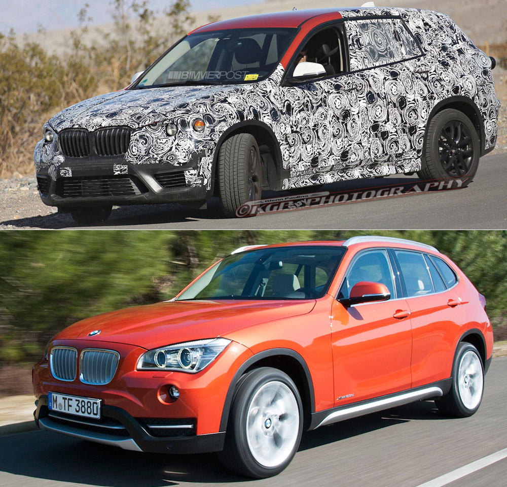2015 Bmw X1 Interior: 2016 X1 (F48) Front End And Headlights Exposed